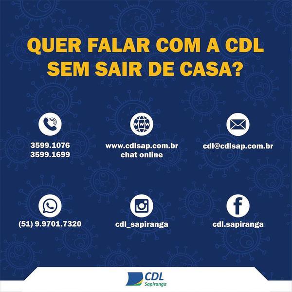 Contatos com a CDL Sapiranga