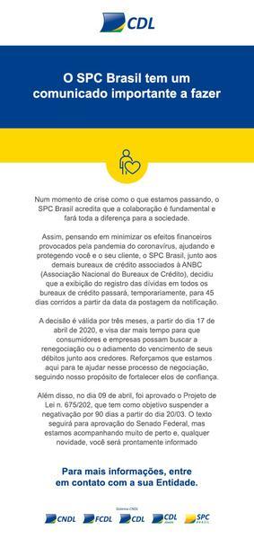 Nota SPC Brasil