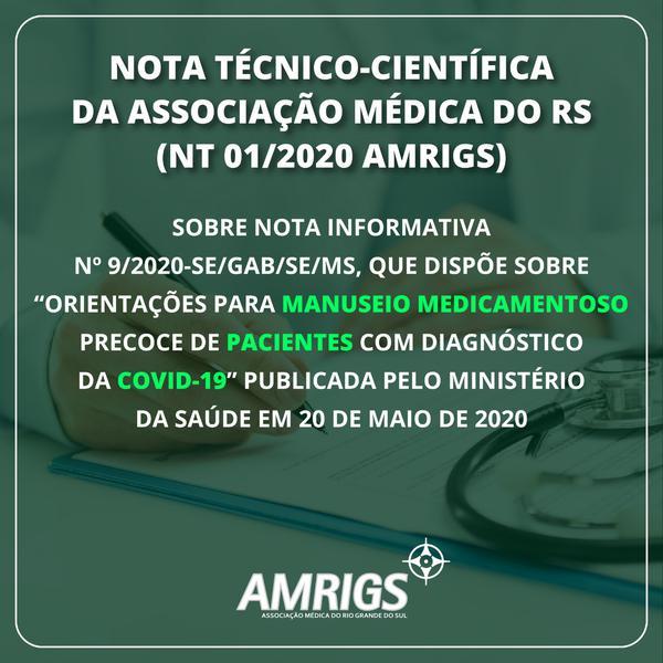 Nota técnico-científica AMRIGS