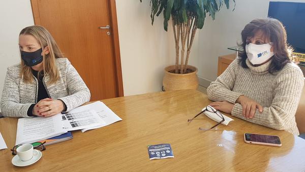 Reunião com a Prefeita Corinha Molling