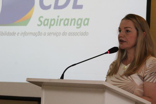Presidente da CDL Sapiranga, Clarice Strassburger