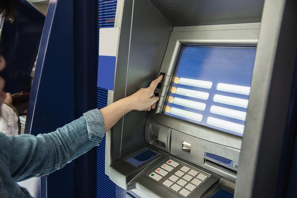 Atenção em bancos e caixas eletrônicos