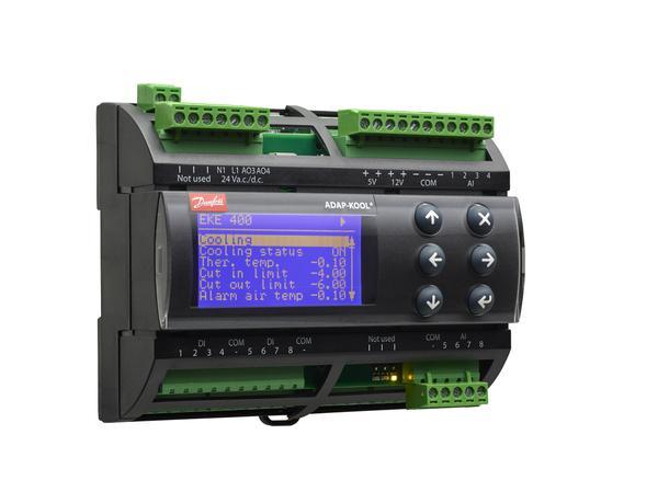 O EKE 400 inclui comunicação Modbus