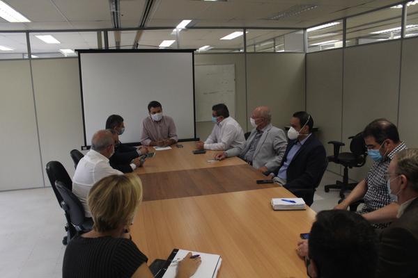 Reunião no IPERGS - Instituto de Previdência do Estado do Rio Grande do Sul