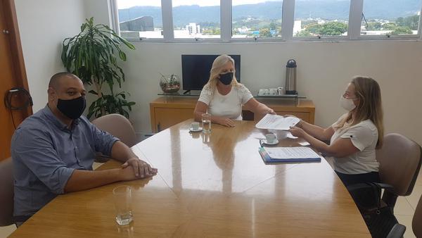 Reunião na Prefeitura de Sapiranga