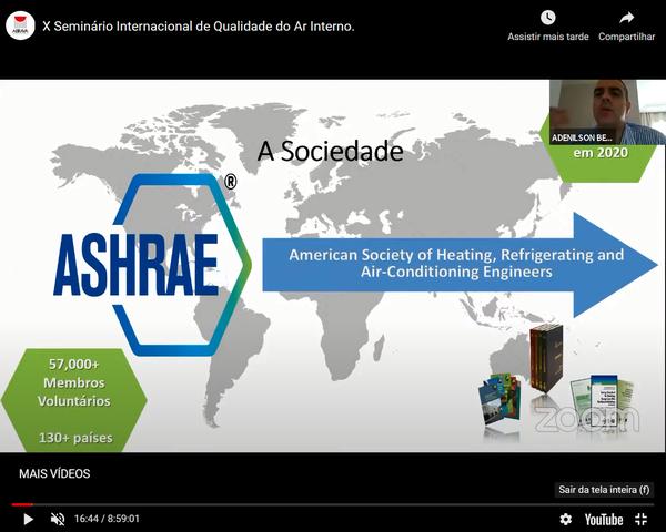 10 ° QAI - Seminário Internacional da ABRAVA e ASHRAE
