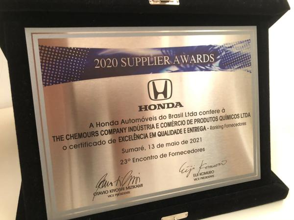 Prêmio Honda