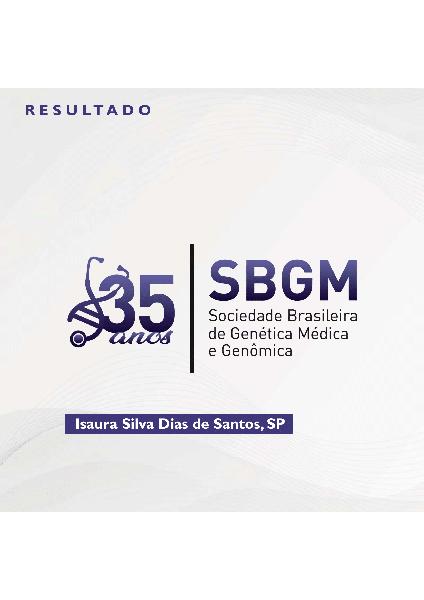 35 anos da SBGM