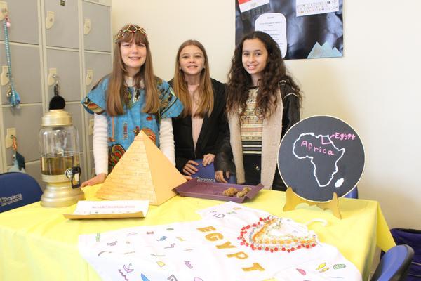 Egito foi um dos países apresentado na feira