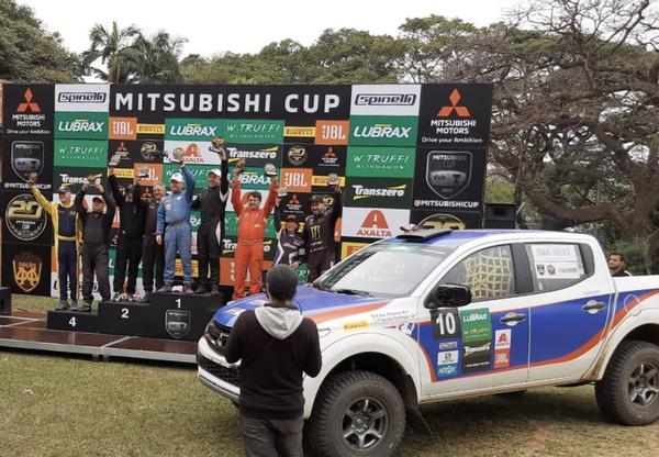 Vice-campeões da etapa de Jaguaríuna e novamente com o carro em destaque