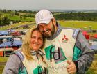 Além de competir, o casal Fontoura e Sandra comanda a maior equipe do grid (Divulgação)