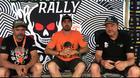 Parceria promissora: Irmãos Fernandes (Husqvarna Brasil) com Bianchini Rally (MSuzuki Comunicação)