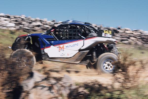 Aos 15 anos, Bruno é líder no Brasileiro de Rally Baja na UTV Start