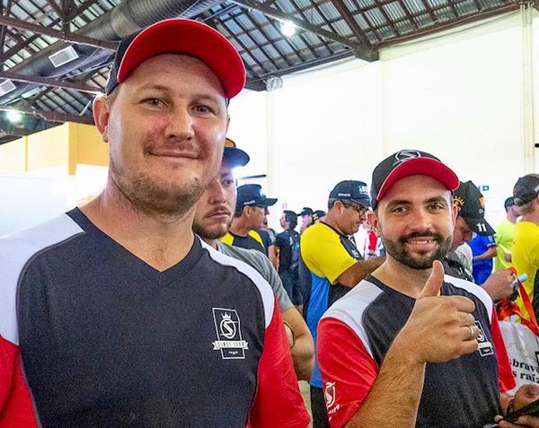Os gaúchos Keller e Ritter são líderes no campeonato catarinense
