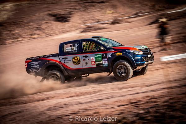 Moraes/Bentivoglio venceram a etapa e aprovaram a L200 Triton Sport R