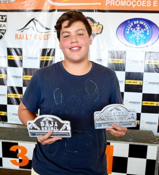 Bruno conquista o sexto pódio da temporada, sem seis provas