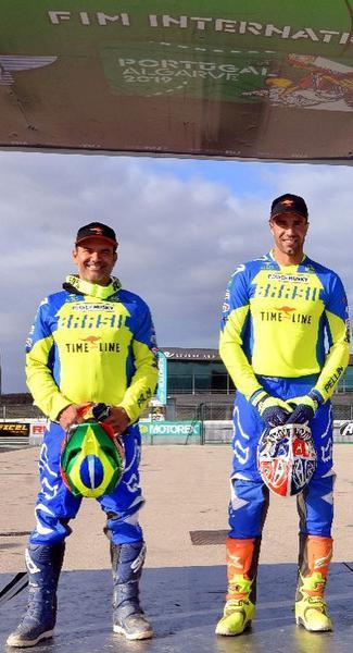 Pilotos da Power Husky em Portugal: Fernandes e Pellin