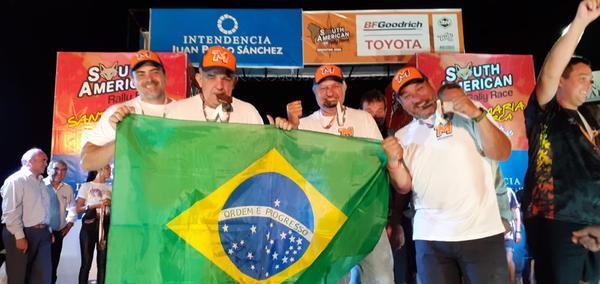 Após sete dias de disputadas acirradas, brasileiros completaram o SARR 2020 (Tuco On Track)