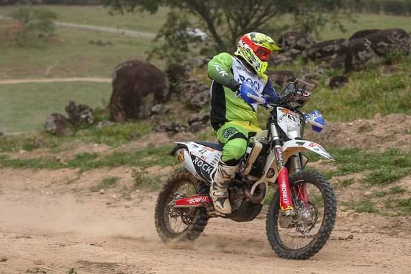 O gaúcho Marcos Colvero compete na Over 45 (Vinícius Branca/Fotop)
