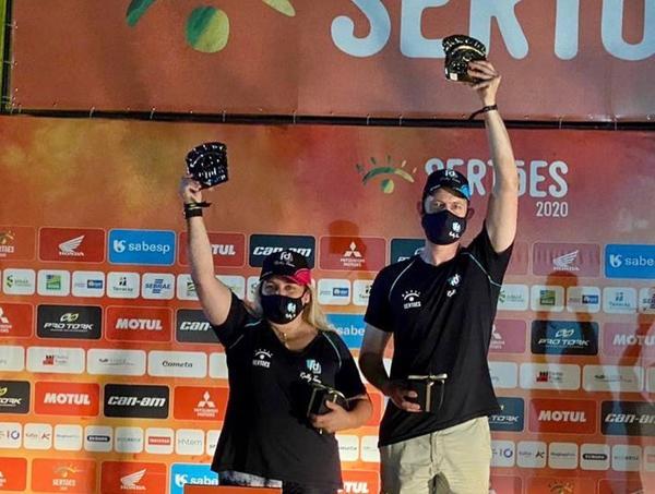 Sandra/Quirrenbach campeões no terceiro ano de parceria da dupla (Vinícius Ferraz/Shez)