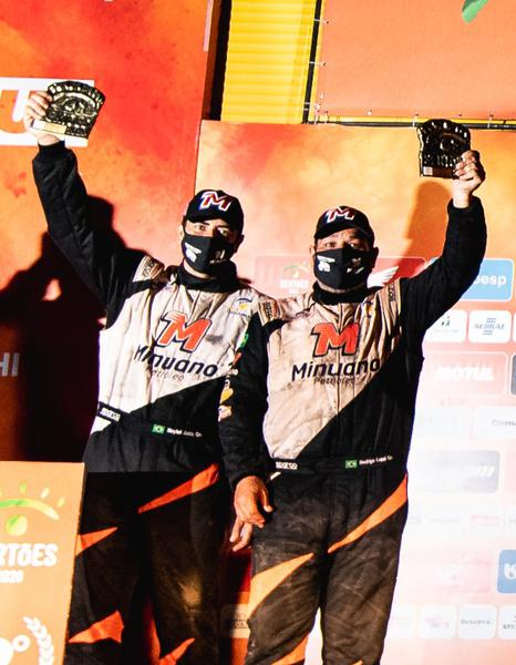 Campeões na UT1, Luppi e Justo fecham o rali com dever cumprido (Vinícius Branca/Fotop)