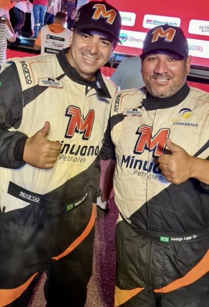 Maykel Justo e Rodrigo Luppi segundo ano de parceira no rali argentino (Divulgação)