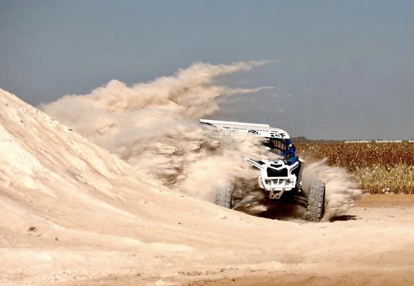 Richard Fliter/André Munhoz na edição do ano passado do Rally Jalapão (Divulgação)