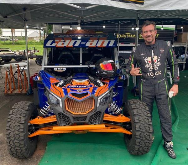 Campeão do Rally Jalapão nas Motos SProduction, Marcos Finato estreia nos UTVs (Divulgação)