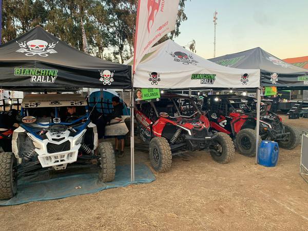 Box da equipe no Rally Jalapão do ano passado (Divulgação)