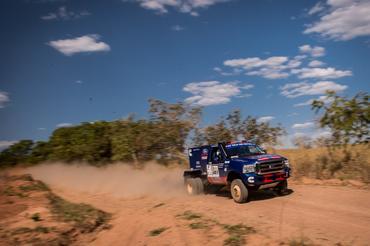 Trio é o mais rápido do quarto dia do Rally dos Sertões