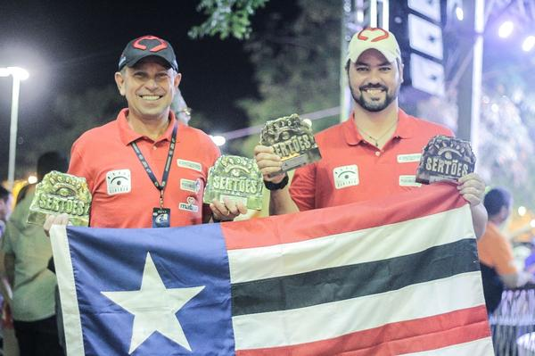 Dupla leva para o Maranhão: troféus pelo 5o na Production T2 e o 4o na TR4