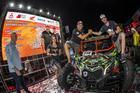 Dupla do UTV #230 na Largada Promocional, em Goiânia (Vinícius Branca/Fotop)