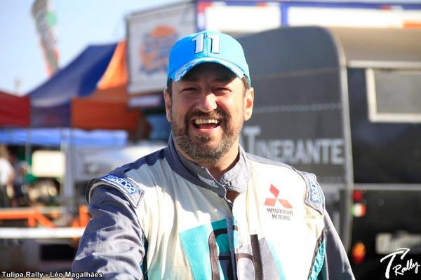 Fontoura não buscará resultado neste fim de semana, será uma adaptação (Leo Magalhães/Tulipa Rally)