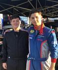 Nova geração de pilotos da equipe: Bruno e Nathan (dir.) (Divulgação)