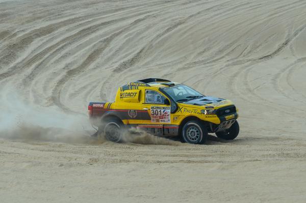 Marcos Baumgart chegou a liderar a prova, mas teve de desistir no terceiro dia (Doni Castilho/Divulgação)