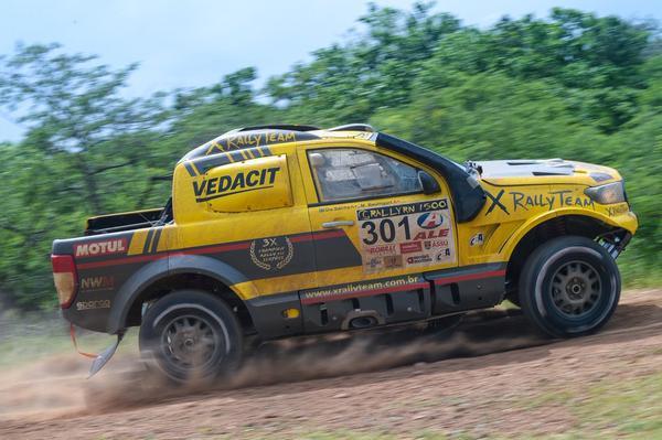Equipe X Rally Team domina o RN 1500 e vence a segunda seguida no Brasileiro (Doni Castilho/Divulgação)