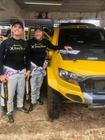 Marcos Baumgart e Kleber Cincea, da equipe X Rally Team (Divulgação)