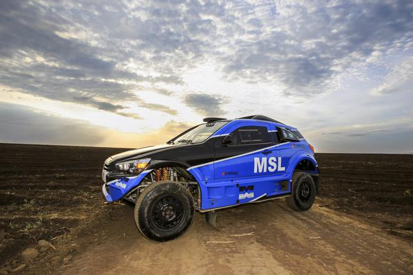 É a quinta etapa do Campeonato Brasileiro de Rally Cross Country (Luciano Santos/SiGCom)