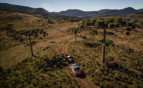 Rally Caminhos da Neve foi disputado na região da Serra Catarinense (Foto: Gustavo Epifânio)
