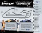 Infográfico com informações da pista de Campo Grande e programação (Hot Car Competições)