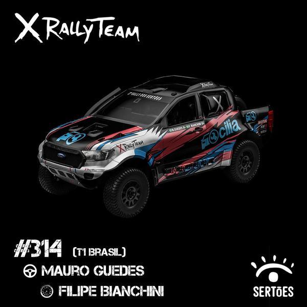 Dupla vai na X Rally Ranger da classe T1 Brasil (Divulgação)