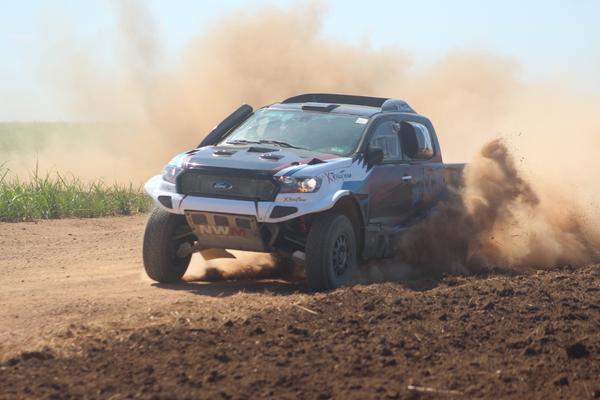 Piloto do DF corre pela X Rally Team com o navegador Filipe Bianchini (Foto: Cleber Bernuci/P1 Media Relations)