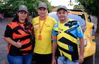 O casal de fãs paraenses que viaja até 1.000 km para encontrar os ídolos (Fotop)