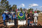 Foi a primeira vitória da dupla brasileira no campeonato local (Foto: Colin Mileman/Mileman Media)