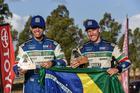 Marcos Baumgart (dir) e Kleber Cincea (esq) vencem rali na África do Sul (Foto: Colin Mileman/Mileman Media)