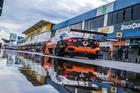 Chuva caiu na pista de Goiânia 15 minutos antes do início da classificação (Foto: Vanderley Soares)