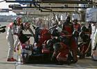 Mas uma pane elétrica no meio da prova fez o trio despencar posições (Audi Sport)