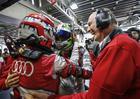 Comemoração na Audi Sport pela segunda pole do #8 na temporada (Audi Sport)