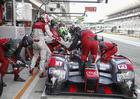 Lucas assumiu a condução do bólido após o segundo pit stop (Audi Sport)
