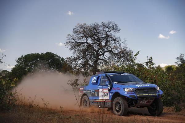 #348 - Gunter Hinkelmann/Fábio Pedroso - Ford Ranger V8 4x4 T1 Brasil (Marcelo Machado/FOTOP)